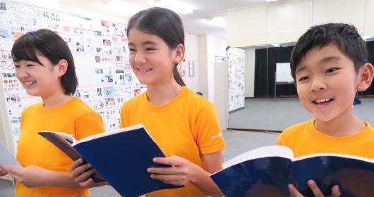 タレント養成小学生低学年コース<br>(基礎・応用)